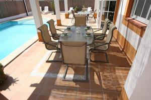 Alfresco Dining - Villa Zante - Fuerteventura