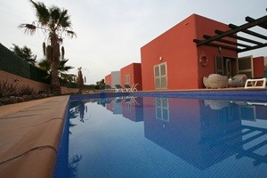 Heated pool - Villa Laura - Fuerteventura