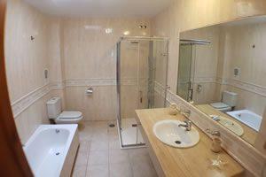 Image of the main bathroom